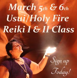 Reiki I & II Class